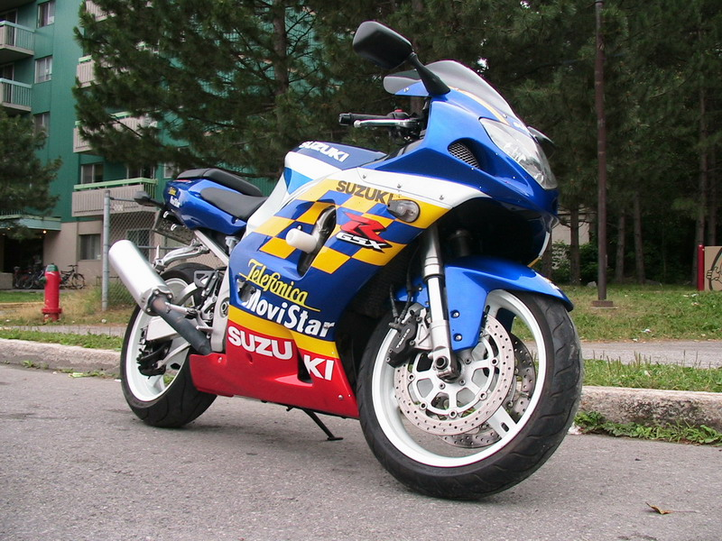 Suzuki GSX-R 750, 2001 (Updated May 24, 2008)